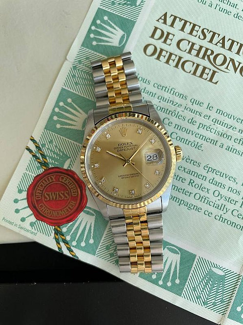 Rolex  Ref 16233 with papers