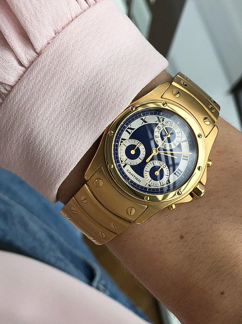 Cartier  Ref 1530 Gold with box