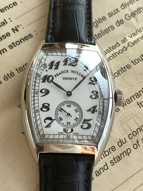 Franck Muller  Ref 8880 B S6 PR VIN  NEW with papers