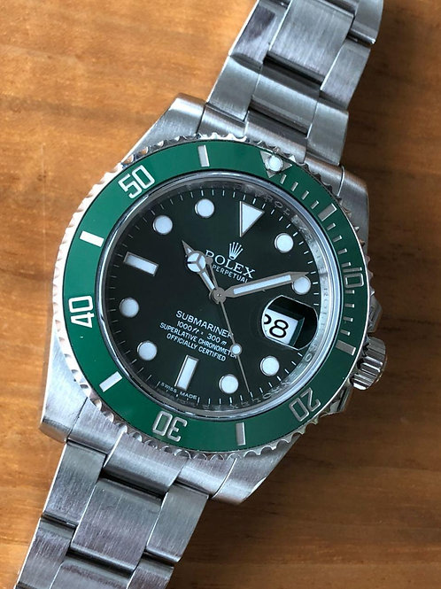 Rolex  Ref 116610LV with papers