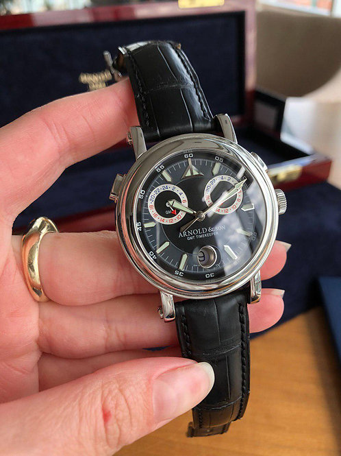 Arnold & Son Ref. 1G2AS with box and papers
