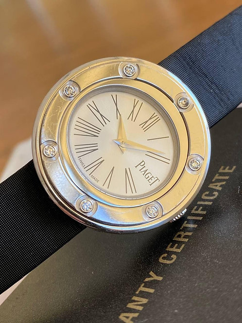 Piaget  Ref P10402 white gold with papers