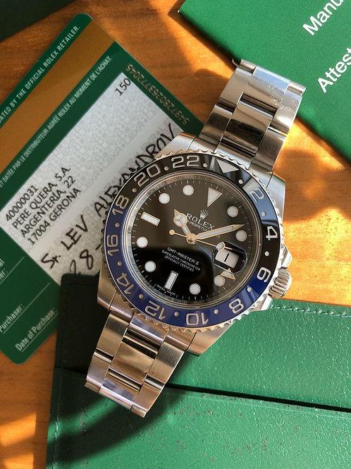 Rolex  Ref 116710BLNR full set