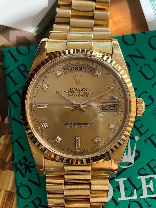 Rolex  Ref 18238 full set