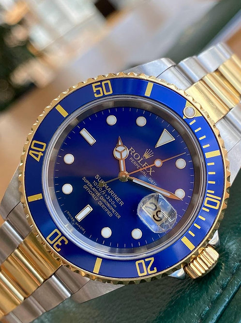 Rolex  Ref 16613 with papers