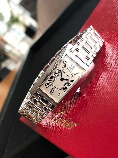 Cartier  Ref 1713 white gold with papers