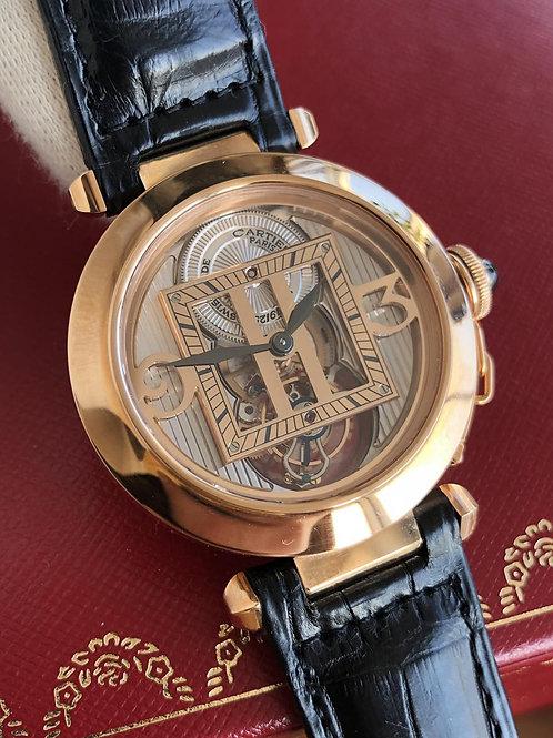 Cartier  Ref 2578 NEW Tourbillon full set