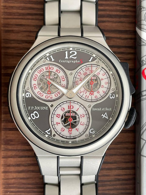 F.P. Journe   Ref CTS ALU With papers
