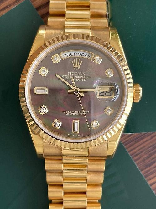 Rolex  Ref 118238 full set