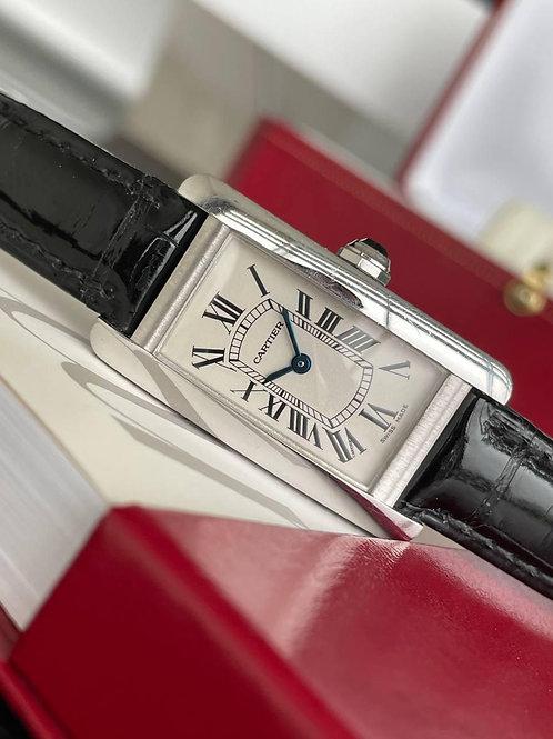Cartier  Ref 2489 white gold full set