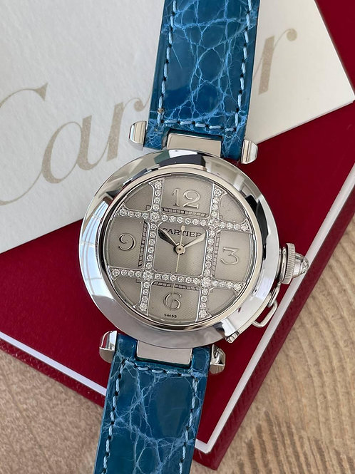 Cartier  Ref 2400 White gold with papers