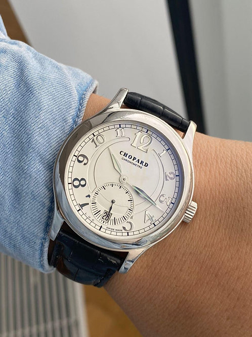 Chopard  Ref 16/1875 with box white gold