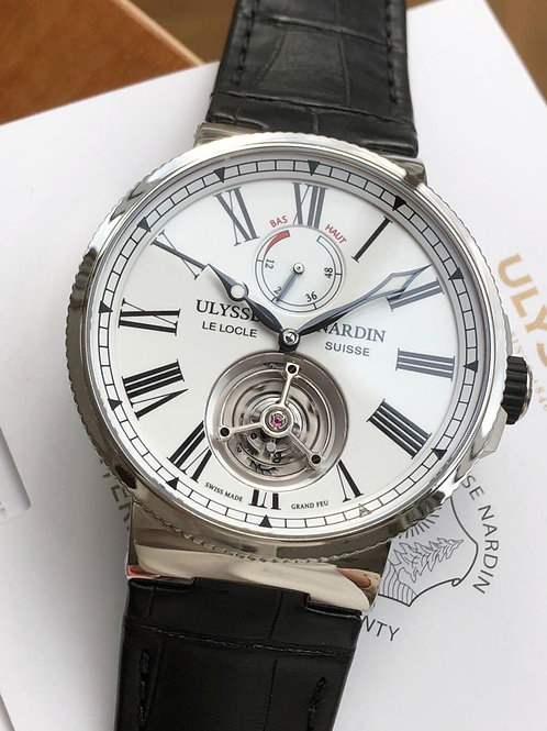 Ulysse Nardin  Ref 1283-181/E0 NEW Tourbillon with papers