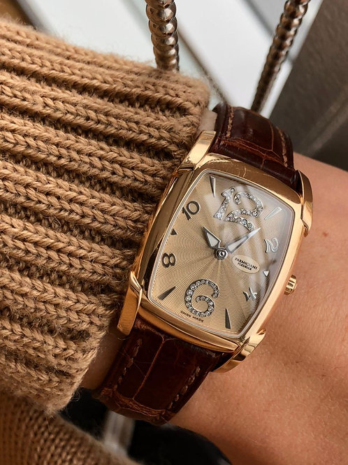 Parmigiani with papers