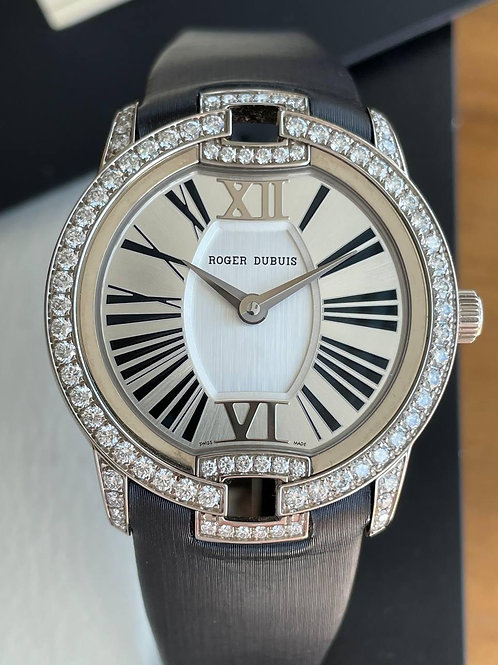 Roger Dubuis  Ref DBVE0007 white gold with papers