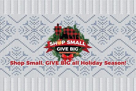 Shop Small GIVE BIG Holiday Season FB Co