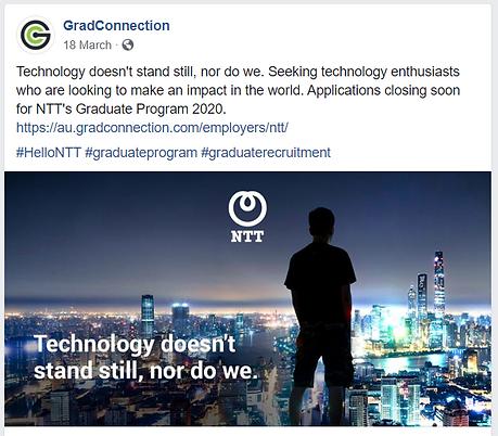 Facebook - Technology doesn't stand stil