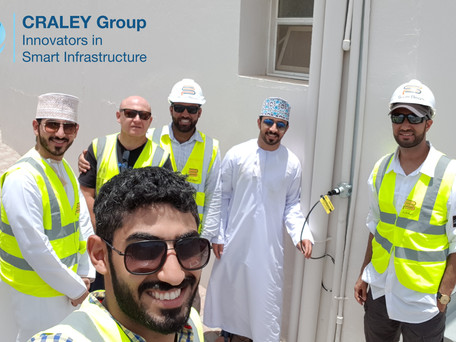CRALEY Fibre™ pilot installation in Muscat, Oman