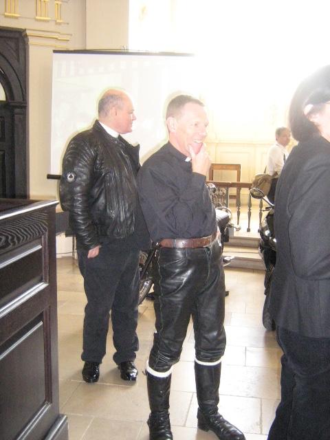 Fr Denis McSweeney (Left)