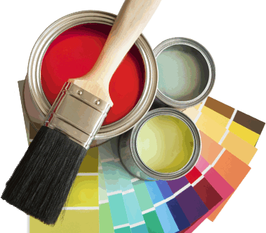 What are finishes in paint?