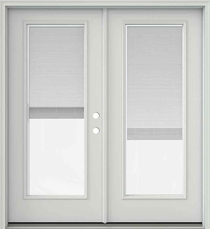 Appease Builders, french doors with internal blinds you never need to clean.