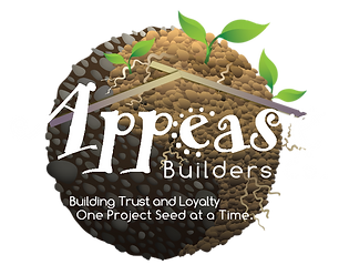 Appease Builders is a handyman service in Long Beach, Company Logo
