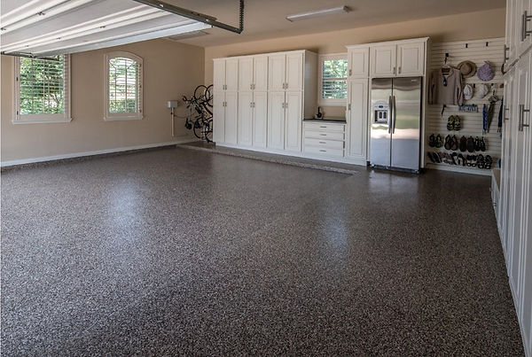 Appease Builders - Garage floors made beautiful