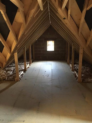 Attic conversion, Appease Builders, Long Beach, CA.
