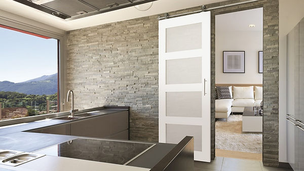 Appease Builders, Barn doors come in an array of styles