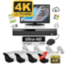 Appease Builders, 4k UltraHD Surveillance Cameras