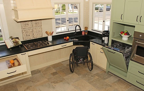Appease Builders - Kitchen remodels to reclaim space for ease of mobility. Handyman Long Beach, CA