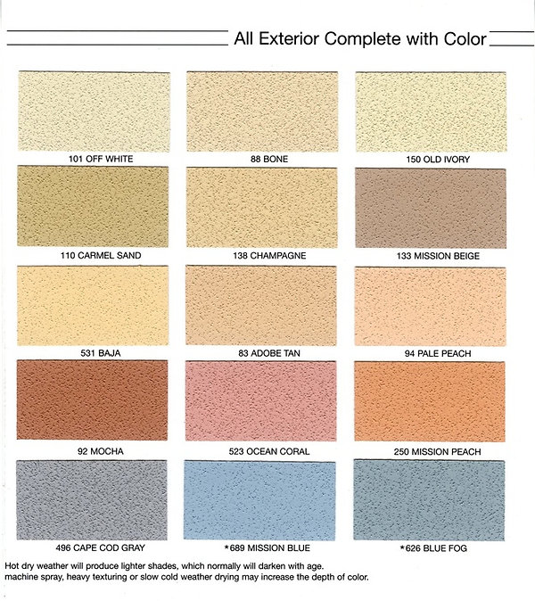 Exterior stucco finishes by Appease Builders