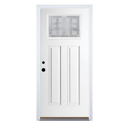 Craftsman Clear Glass door