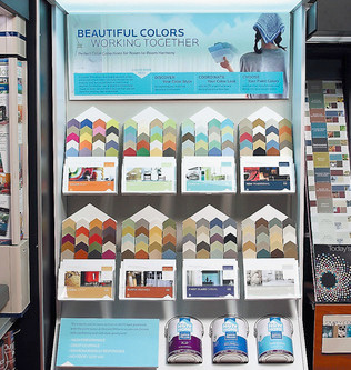 Sherwin-Williams, a new brand of paint at Lowe's retail stores (Starting third week of March).