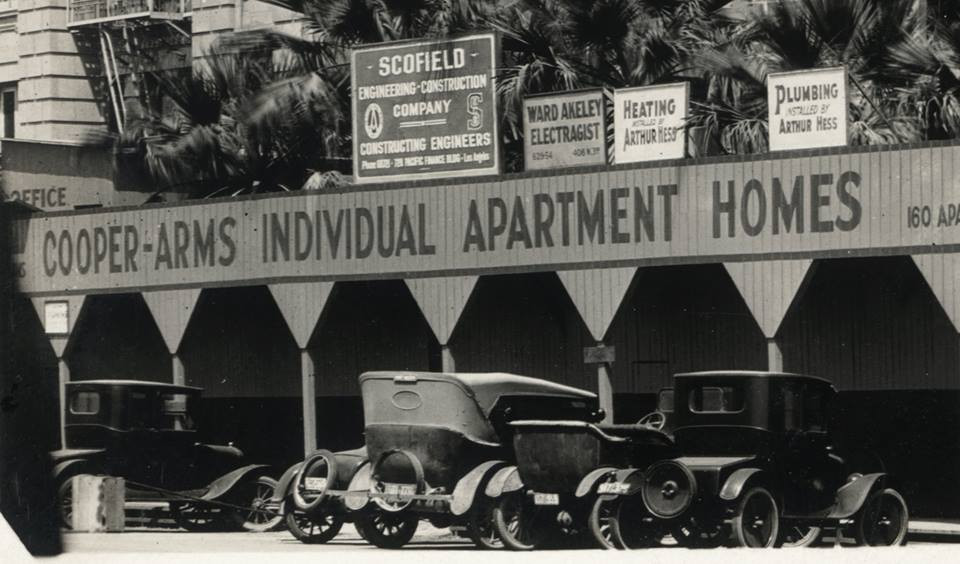 Parking at the Cooper Arms, Long Beach, CA. 1924