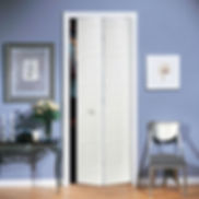 Appease Builders, by-fold style doors come in a selection of styles and sizes.