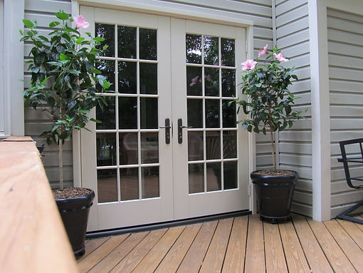 Appease Builders, french doors have always been a favorite
