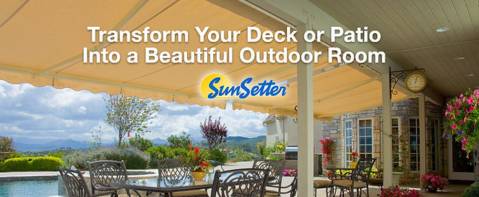 Appease Builders - SunSetter awnings