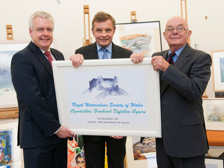 Watercolour Society of Wales awarded Royal prefix