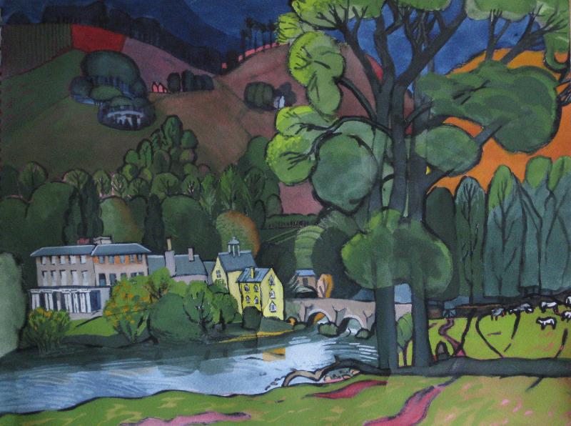 River Usk at Penpont