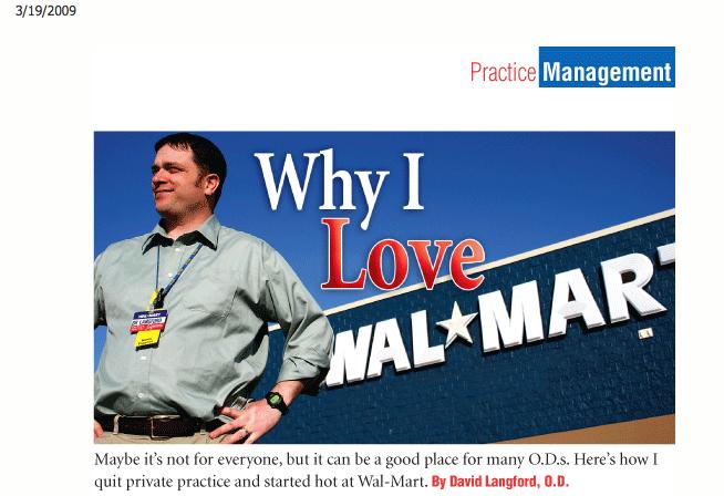 A Walmart Doc