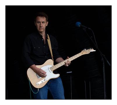 James Richards on guitar