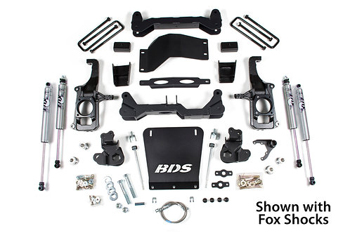 "4.5"" BDS Suspension Lift Kit (11-18 Chevy/GMC 2500/3500)"