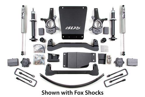 "6"" BDS Lift Kit 07-13 GM 1500 4WD"