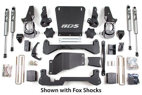 "7"" BDS Suspension Lift Kit (01-10 Chevy/GMC 2500/3500)"