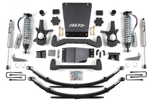 """6"""" Coilover BDS Lift Kit 07-13 GM 1500 4WD"""