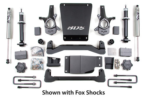 "4"" BDS Lift Kit 07-13 GM 1500 4WD"