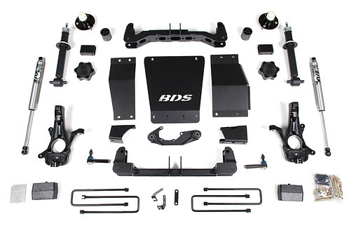 "4"" BDS Lift Kit 2014-18 Chevy/GMC 1500 4WD w/o Magnaride"