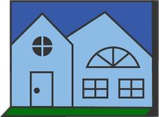 Home icon, home insurance