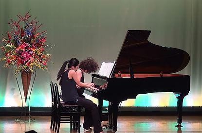 ピアノ デュオ 連弾 ビブラビブレ ♪